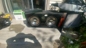 Clarion proaudio amp and subs