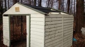 storage shed 8+10