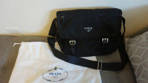 AUTHENTIC PRADA VELA NYLON MESSENGER BAG - MINT CONDITION