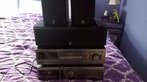 JVC Stereo, CD player and speakers