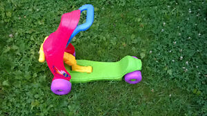 BACKTARD TOYS:SCOOTER,CARS, PICNIC TABLE AND MORE FOR KIDS