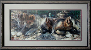 Carl Brenders- Pick Of The Pack limited edition framed n/g glass