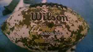 Wilson junior digital camo football