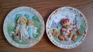 4 Cherished Teddies Collector Plates for $5 each