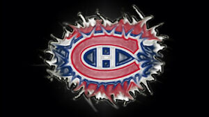 Hurricanes vs Montreal -December 13-Rouge/Red 103 Rangee/Row 'G'