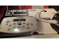 Boss vocal performer VE 5 effects
