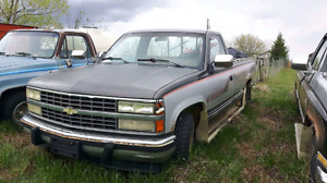 91 Chevy 1500 parts truck