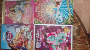 Barbie and My Little Pony DVDs