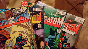 DC mini series #1-4 Sword Of The Atom