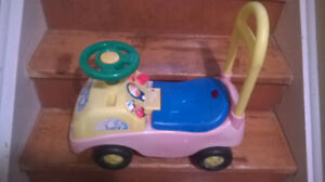 BABY TOYS, RIDE ON TRUCK 10$ ,MUSICAL CHAIR  25$