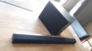 Phillips Soundbar and Subwoofer
