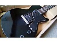 Gibson Epiphone Les Paul Junior Electric Guitar Black Ebony Beginner Vintage LP £80 ONO
