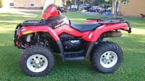 ***2010 Can Am Outlander Power Steering! ***