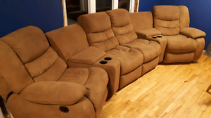 5 piece  sectional couch