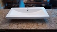 "36"" Porcelain Bathroom Vanity Top"
