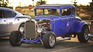 1931 Ford Model A Coupe 5 Window Henry Ford Steel