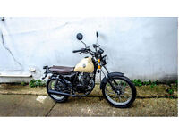 SINNIS Track Star 125cc Naked. Retro.Learner Legal. Commutor