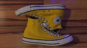 High Top Yellow Converse