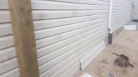 Siding soffit facia repairs houses garages and sheds