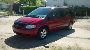 2007 Dodge Caravan- 7 Passenger, Stow and Go seating, New Safety