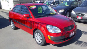 2008  KIA  RIO  EX  only $ 4495 / CERTIFIED  141 KMS