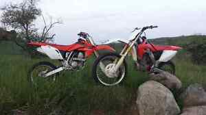 Trade CRF250R & CRF150RB for CRF250X/CRF450X