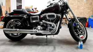 Dyna FXDL Vance and Hines Exhaust