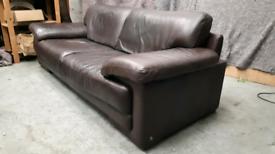 Trhee seater Leather Sofa