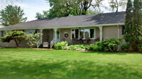 Brick ranch on one acre in LaSalle