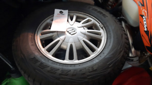 winter tires with rims for buick