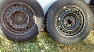 4  Yokohama - Ice Guard Tires- Snow tires and rims $200