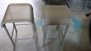Bar stools or side tables