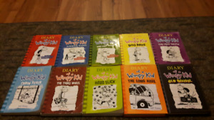 1-10 of Diary of the wimpy kid series