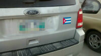 Car magnets with a flag of your country!