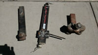 Various hitch part's  Sway control arm $25  Equaliser hitch (Gen