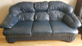 *SOLD*Leather sofa