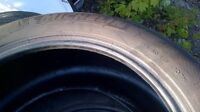Two 255/50 /19 michelin tires in great shape