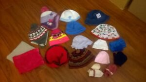 Hats, Gloves, and Tube Scarfs