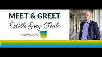 Alberta party meet and greet with party leader Greg Clark.