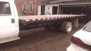 FORD F 550----21 FOOT FLATBED---LOW KMS Cambridge Kitchener Area image 2