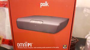 Polk Audio Omni P1 wireless music adapter