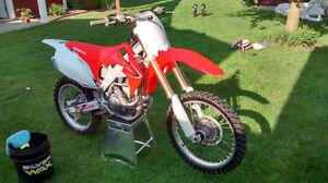moto-cross honda crf 250 r