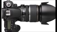 Canon 7d  very equiped