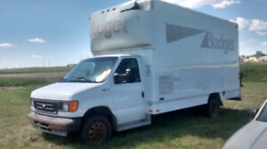 2004 Ford E450 cubevan With lift gate