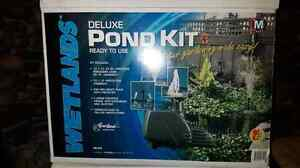 NEW PRICE-2 DELUXE POND KITS (complete)