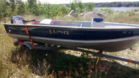 Lund Fishing Boat Mint Condition