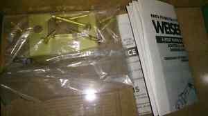 New in Box Weiser Prestige Series solid brass door handle Kitchener / Waterloo Kitchener Area image 4