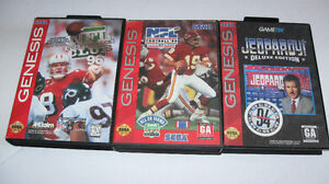 8 Sega Genesis 1 and 2 Games with boxes  - $15 for all -