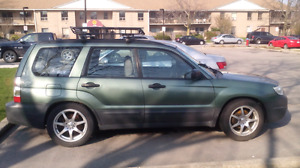 Need space 2006 Subaru forester x  5 speed parts car or project