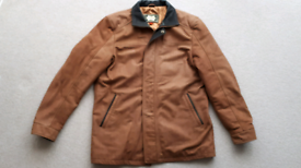 Leather jacket mens XL